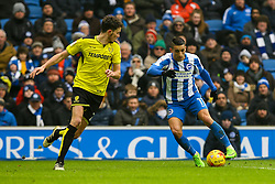 Anthony Knockaert of Brighton & Hove Albion on the attack - Mandatory by-line: Jason Brown/JMP - 11/02/2017 - FOOTBALL - Amex Stadium - Brighton, England - Brighton and Hove Albion v Burton Albion - Sky Bet Championship