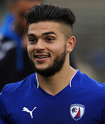 Chesterfield's Sam Morsy - Photo mandatory by-line: Harry Trump/JMP - Mobile: 07966 386802 - 03/04/15 - SPORT - FOOTBALL - Sky Bet League One - Yeovil Town v Chesterfield - Huish Park, Yeovil, England.