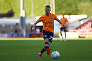 Oldham Athletic midfielder Jack Byrne (29) looks to release the ball  during the EFL Sky Bet League 1 match between Northampton Town and Oldham Athletic at Sixfields Stadium, Northampton, England on 5 May 2018. Picture by Dennis Goodwin.