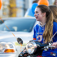 Alumni Bronco Bash, Homecoming Parade, Allison Corona photo.