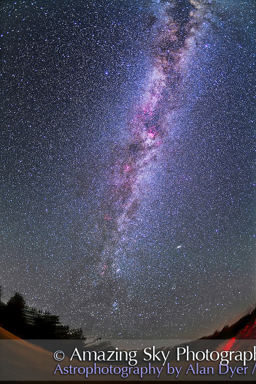 Table Mountain Milky Way North Amazing Sky