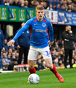 Andy Cannon (14) of Portsmouth during the EFL Sky Bet League 1 match between Portsmouth and Ipswich Town at Fratton Park, Portsmouth, England on 21 December 2019.