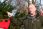 Matt Wrack, FBU General Secretary, speakinng at an FBU march and rally against proposed cuts in frontline services. Kingston upon Hull 11/12/10...© Martin Jenkinson, tel 0114 258 6808 mobile 07831 189363 email martin@pressphotos.co.uk. Copyright Designs & Patents Act 1988, moral rights asserted credit required. No part of this photo to be stored, reproduced, manipulated or transmitted to third parties by any means without prior written permission.