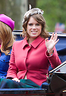 """PRINCESS EUGENIE.TROOPING THE COLOUR_Duke of Edinburgh Makes 1st Appearance since being hospitalised.The event marks the Queen's Official Birthday, The Mall, London_16th May 2012.Photo Credit: ©Reynolds/Newspix International..**ALL FEES PAYABLE TO: """"NEWSPIX INTERNATIONAL""""**..PHOTO CREDIT MANDATORY!!: NEWSPIX INTERNATIONAL..IMMEDIATE CONFIRMATION OF USAGE REQUIRED:.Newspix International, 31 Chinnery Hill, Bishop's Stortford, ENGLAND CM23 3PS.Tel:+441279 324672  ; Fax: +441279656877.Mobile:  0777568 1153.e-mail: info@newspixinternational.co.uk"""