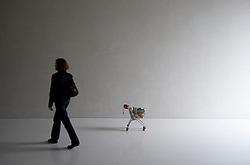 Modern art exhibit at Kolumba Museum in Cologne