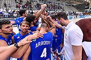 DESCRIZIONE : Trento Nazionale Italia Maschile Trentino Basket Cup Italia Paesi Bassi Italy Netherlands <br /> GIOCATORE : Team Italy Italia<br /> CATEGORIA : Fair Play Before Pregame<br /> SQUADRA : Italia Italy<br /> EVENTO : Trentino Basket Cup<br /> GARA : Italia Paesi Bassi Italy Netherlands<br /> DATA : 30/07/2015<br /> SPORT : Pallacanestro<br /> AUTORE : Agenzia Ciamillo-Castoria/GiulioCiamillo<br /> Galleria : FIP Nazionali 2015<br /> Fotonotizia : Trento Nazionale Italia Uomini Trentino Basket Cup Italia Paesi Bassi Italy Netherlands