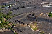 Puukohala Heiau, North Kohala, Big Island of Hawaii