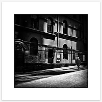 &quot;Noontime Noir&quot;, Angel Place, Sydney. From the Ephemeral Sydney street series.<br /> <br /> As featured in my Head On Photo Festival 2018 associated exhibition &ldquo;Ephemeral Sydney&rdquo;.<br /> <br /> Available print sizes (unframed): <br /> <br /> 30 x 30 cm - Limited edition of six (6) signed &amp; numbered pigment ink prints on Hahnem&uuml;hle Photo Rag Bright White archival paper + maximum two (2) artist&rsquo;s proofs - $220<br /> <br /> 50 x 50 cm &ndash; Limited edition of six (6) as above - $450<br /> <br /> Framed prints available for delivery to Sydney metro area. POA.<br /> <br /> Price includes GST &amp; delivery within Australia.<br /> <br /> To order please email orders@girtbyseaphotography.com