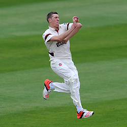 Somerset's Craig Overton. Photo mandatory by-line: Harry Trump/JMP - Mobile: 07966 386802 - 24/05/15 - SPORT - CRICKET - LVCC County Championship - Division 1 - Day 1- Somerset v Sussex Sharks - The County Ground, Taunton, England.
