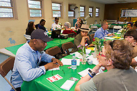 "The Jackson Park Advisory Council, as part of a city-wide effort to improve Chicago parks held an event titled, ""On the Table"" Tuesday evening, May 16th, 2017 at the Jackson Park Fieldhouse located at 6359 S. Stony Island. The purpose of the event was to get community feedback as well as foster community involvement in Chicago parks.<br /> <br /> Please 'Like' ""Spencer Bibbs Photography"" on Facebook.<br /> <br /> All rights to this photo are owned by Spencer Bibbs of Spencer Bibbs Photography and may only be used in any way shape or form, whole or in part with written permission by the owner of the photo, Spencer Bibbs.<br /> <br /> For all of your photography needs, please contact Spencer Bibbs at 773-895-4744. I can also be reached in the following ways:<br /> <br /> Website – www.spbdigitalconcepts.photoshelter.com<br /> <br /> Text - Text ""Spencer Bibbs"" to 72727<br /> <br /> Email – spencerbibbsphotography@yahoo.com"