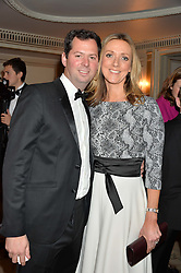MR & MRS CHARLES HILLS at the 26th Cartier Racing Awards held at The Dorchester, Park Lane, London on 8th November 2016.