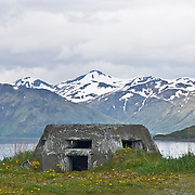 In 1940 the fortification of Dutch Harbor and the neighboring town of Unalaska began. On June 3 1943 the towns were attacked by the Japanese and the battle of Dutch Harbor ensued.