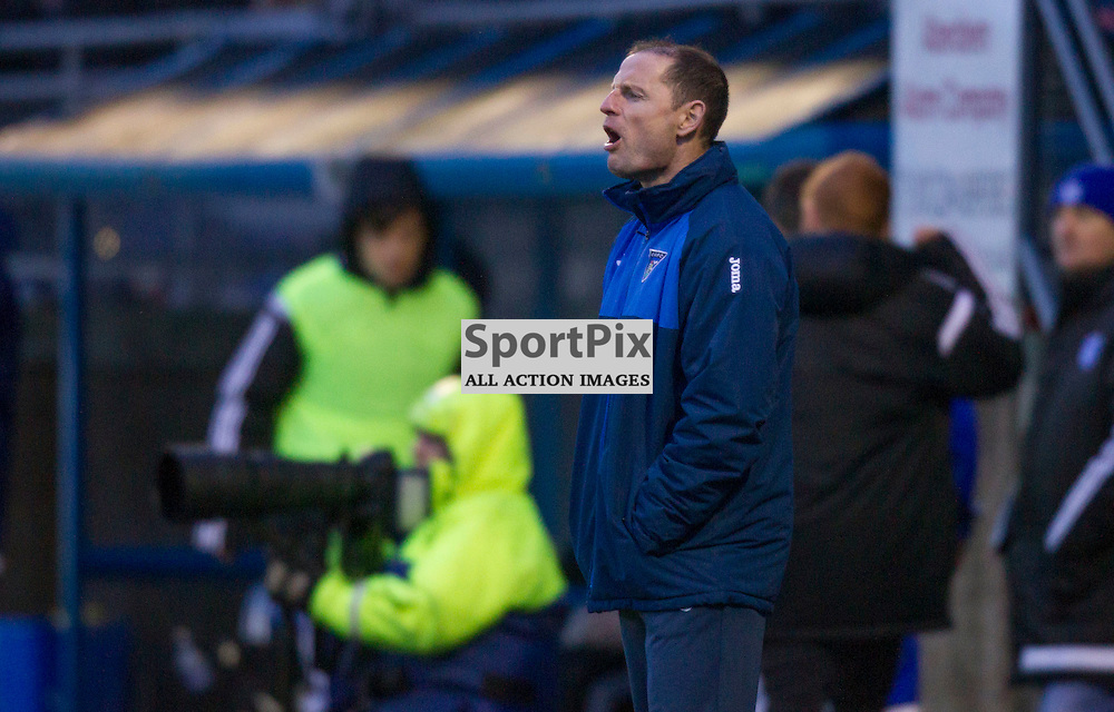 Peterhead v Dunfermline Athletic SPFL League One Season 2015/16 Balmoor Stadium 23 January 2016<br />