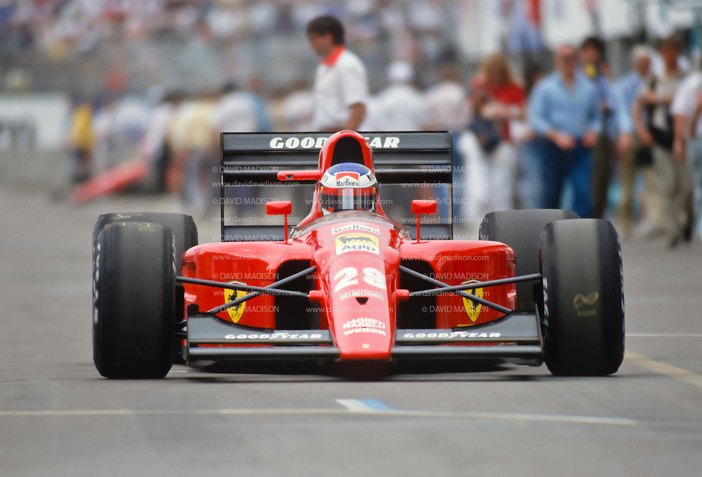 Jean Alesi 1991 F1 Us Grand Prix David Madison Sports