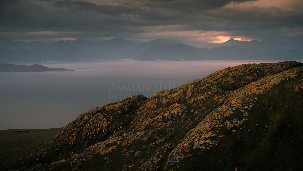Mallaig from Barkeval, Isle of Rum