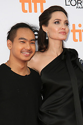 September 12, 2017 - Toronto, Canada - ANGELINA JOLIE WITH HER SON MADDOX - RED CARPET OF THE FILM 'FIRST THEY KILLED MY FATHER' - 42ND TORONTO INTERNATIONAL FILM FESTIVAL 2017 (Credit Image: © Visual via ZUMA Press)