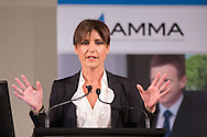 Emma Alberici (Co-presenter ABC Lateline). 2013 Australian Mines And Minerals Association Conference. Crown Conference Center, Melbourne, Victoria, Australia. 16/05/2013. Photo By Lucas Wroe