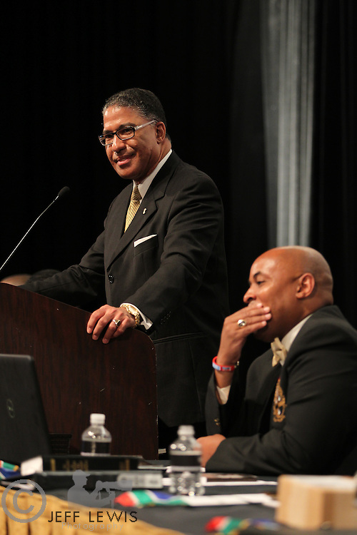 24 July 2010: Alpha Phi Alpha 104th Anniversary General Convention, Las Vegas, Nevada..Business Session .Darryl R. Matthews