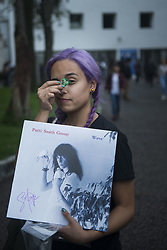 September 2, 2017 - Mexico City, Mexico City, MX - Patti Smith performs free Mexico City concert for a small crowd in Bosque de Chapultepec. (Credit Image: © Joel Alvarez via ZUMA Wire)
