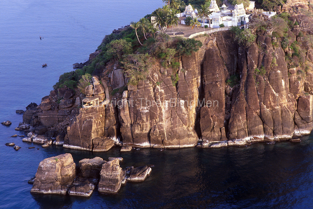 Trincomalee. Swami Rock (above Fort Frederick).<br /> East Coast.