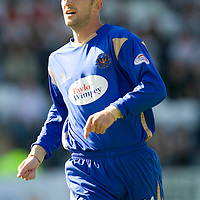 St Johnstone FC 2009-10<br /> Paul Sheerin<br /> Picture by Graeme Hart.<br /> Copyright Perthshire Picture Agency<br /> Tel: 01738 623350  Mobile: 07990 594431