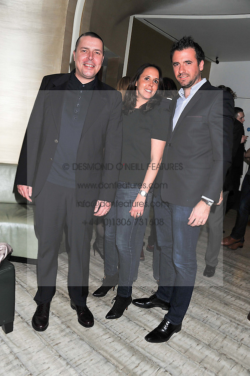 Left to right, and MR & MRS JACQUES D'ARRIGO at the Matthew Williamson London Fashion Week Autumn/Winter 2012 After Party held at Nobu Berkeley, London on 19th February 2012.