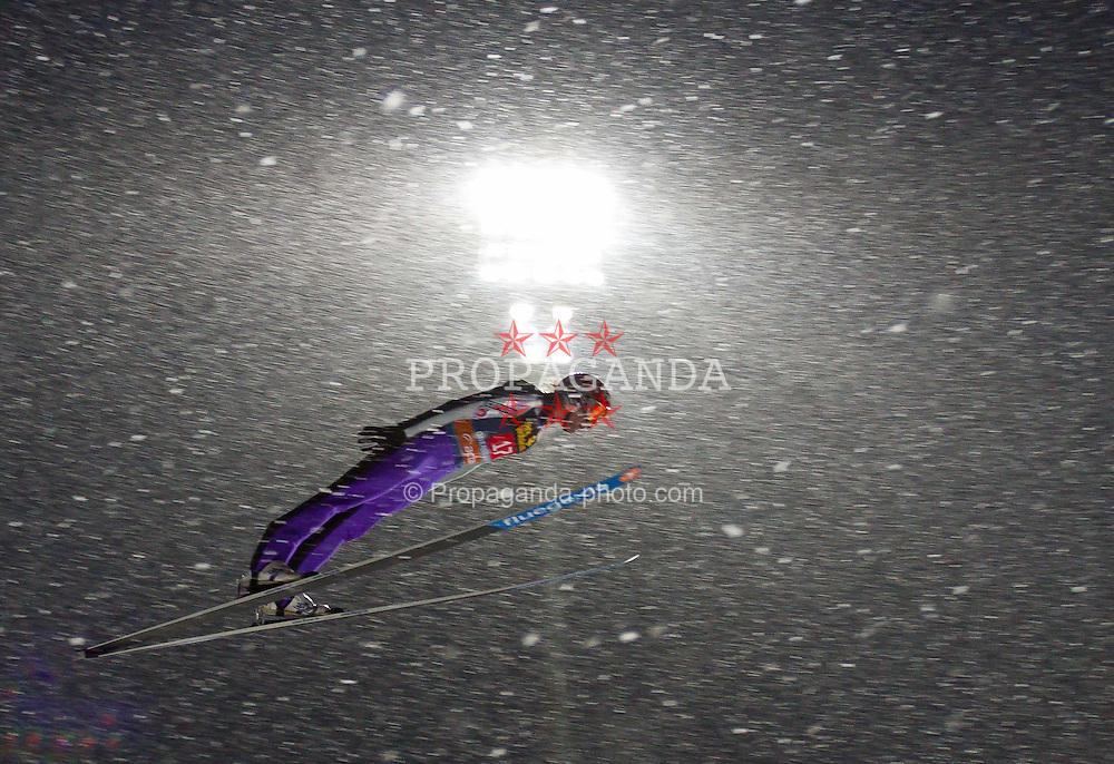 30.12.2011, Schattenbergschanze / Erdinger Arena, GER, Vierschanzentournee, FIS Weldcup, Wettkampf, Ski Springen, im Bild Anssi Koivuranta (FIN) // Anssi Koivuranta of Finland during the competition of FIS World Cup Ski Jumping in Oberstdorf, Germany on 2011/12/30. EXPA Pictures © 2011, PhotoCredit: EXPA/ P.Rinderer