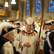 METUCHEN,NJ-OCTOBER 20: Images of the 15th Anniversary Episcopal Ordination and 10th Anniversary of Installation as Bishop of Metuchen of Bishop Paul G. Bootkoski at the Cathedral of St. Francis of Assisi.