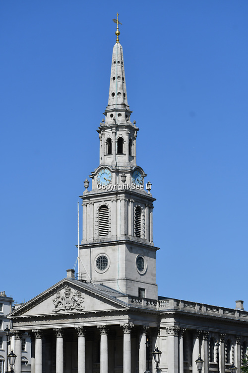 St Martin-in-the-Fields, on 27 June 2019, London, UK