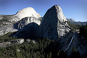 Half Dome and Liberty Cap..