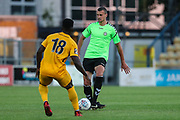 Forest Green Rovers Haydn Hollis(32) passes the ball during the Pre-Season Friendly match between Torquay United and Forest Green Rovers at Plainmoor, Torquay, England on 10 July 2018. Picture by Shane Healey.