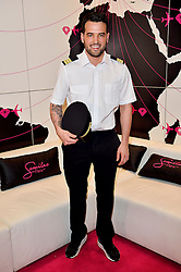 © Licensed to London News Pictures. 28/03/2016. TOWIE star RICKY RAYMENT attends a stand at The Professional Beauty Show. The show is the largest in the UK and one of the largest in Europe. London, UK. Photo credit: Ray Tang/LNP