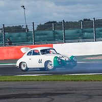 #44, Porsche 356 Pre-A, driver: Gareth Burnett, Royal Automobile Club Tourist Trophy for Historic Cars (pre'63 GT) at the Silverstone Classic 2017