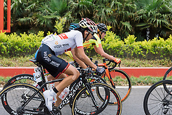 Mayuko Hagiwara (Wiggle Hi5) - Tour of Chongming Island 2016 - Stage 2. A 113km road race on Chongming Island, China on May 7th 2016.