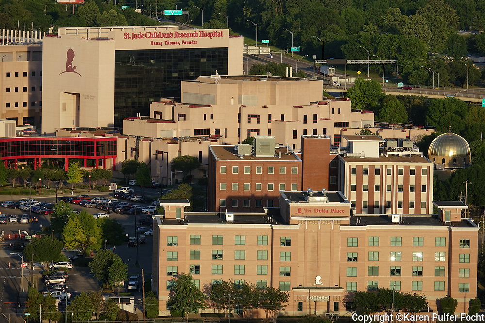 St. Jude Children's Research Hospital, Downtown Memphis