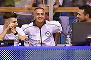 DESCRIZIONE : Campionato 2014/15 Serie A Beko Grissin Bon Reggio Emilia - Dinamo Banco di Sardegna Sassari Finale Playoff Gara7 Scudetto<br /> GIOCATORE : Carmelo Paternico arbitro<br /> CATEGORIA : arbitro pregame<br /> SQUADRA : arbitro<br /> EVENTO : Campionato Lega A 2014-2015<br /> GARA : Grissin Bon Reggio Emilia - Dinamo Banco di Sardegna Sassari Finale Playoff Gara7 Scudetto<br /> DATA : 26/06/2015<br /> SPORT : Pallacanestro<br /> AUTORE : Agenzia Ciamillo-Castoria/GiulioCiamillo<br /> GALLERIA : Lega Basket A 2014-2015<br /> FOTONOTIZIA : Grissin Bon Reggio Emilia - Dinamo Banco di Sardegna Sassari Finale Playoff Gara7 Scudetto<br /> PREDEFINITA :