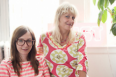 Bust Magazine's Debbie Stoller and Laurie Henzel (NY, June 2010)