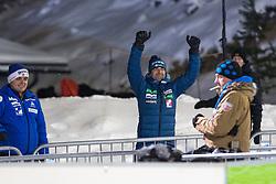 24.11.2017, Nordic Arena, Ruka, FIN, FIS Weltcup Ski Sprung, Nordic Opening, Kuusamo, Franci Petek of Slovenia during the FIS Ski jumping World Cup of the Nordic Opening at the Nordic Arena in Ruka, Finland on 2017/11/24. Sportida © 2017, PhotoCredit: JFK