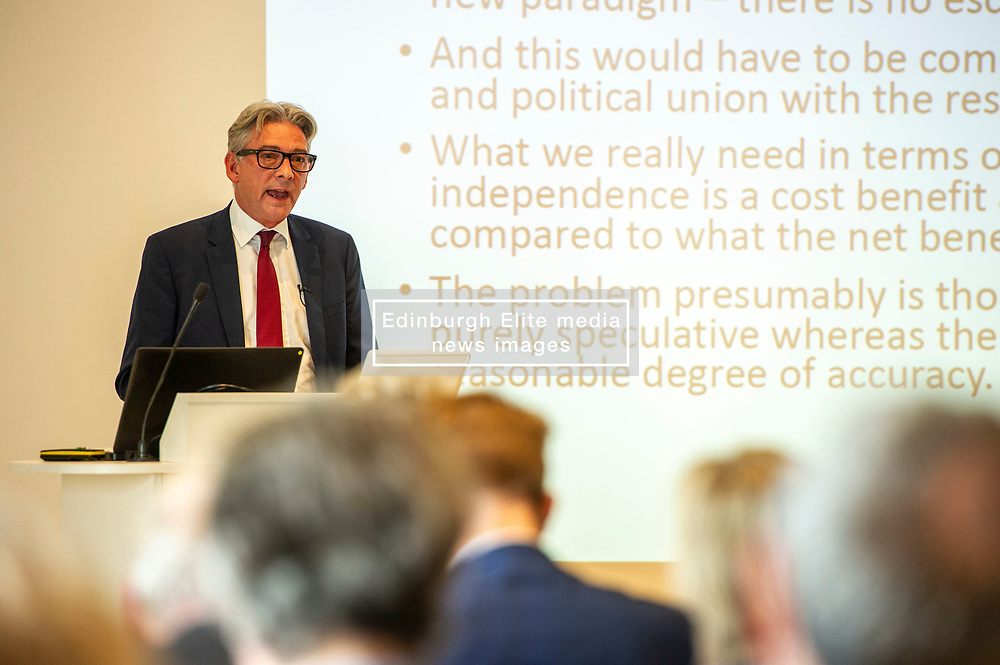 Pictured: Richard Leonard<br />Gordon Brown addressed thenew Scottish think tank seminar today.  He was joined by Shadow Scottish secretary Lesley Laird and Scottish Labour leader Richard Leonard who also spoke at the inaugural meeting of Our Scottish Future<br /><br />Ger Harley | EEm 30 August 2019