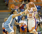 Boise St Basketball W 2006-07 v La Tech