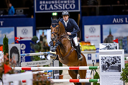GREVE Willem (NED), Highway M TN<br /> Preis der fair ground GmbH<br /> Int. jumping competiton against the clock (1,35-1,40m) - CSIYH1*<br /> Braunschweig - Classico 2020<br /> 06.03.20<br /> © www.sportfotos-lafrentz.de/Stefan Lafrentz