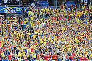 SAint-DENIS, FRANCE, 10.06.2016 - FRANCE-ROMANIA - French Fans are seen before the start of Euro 2016 in the Stade de France in Saint-Denis, on Friday. France and Romania face off in the stadium after the event.