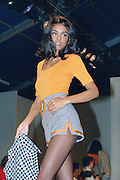 A model  during the London Fashion Shows early 1990s . An instant sale option is available where a price can be agreed on image useage size. Please contact me if this option is preferred.
