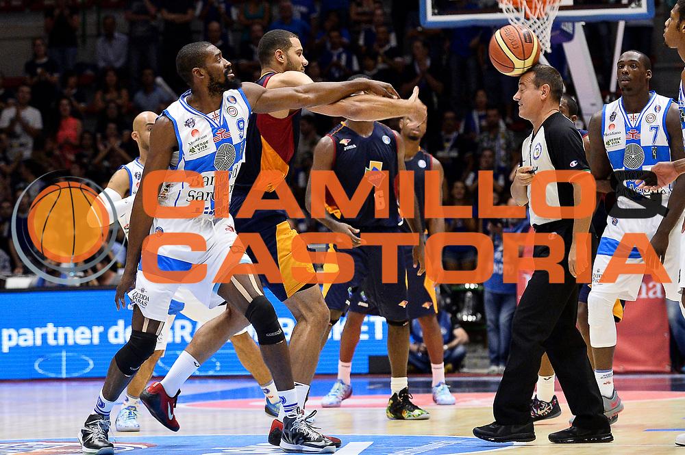 DESCRIZIONE : Sassari Lega Serie A 2014/15 Beko Supercoppa 2014 Semifinale Dinamo Banco di Sardegna Sassari Acea Virtus Roma<br /> GIOCATORE : Gianluca Mattioli Arbitro <br /> CATEGORIA : Arbitro Curiosita<br /> SQUADRA :Curiosita<br /> EVENTO : Beko Supercoppa 2014 <br /> GARA : Dinamo Banco di Sardegna Sassari Acea Virtus Roma <br /> DATA : 04/10/2014 <br /> SPORT : Pallacanestro <br /> AUTORE : Agenzia Ciamillo-Castoria/Max.Ceretti<br /> Galleria : Lega Basket A 2014-2015 <br /> Fotonotizia : Sassari Lega Serie A 2014/15 Beko Supercoppa 2014 Semifinale Dinamo Banco di Sardegna Sassari Acea Virtus Roma<br /> Predefinita :