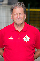 OHL's head coach Jacky Mathijssen pictured during the 2015-2016 season photo shoot of Belgian first league soccer team OH Leuven, Monday 13 July 2015 in Leuven.