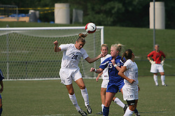 Virginia Cavaliers M Nikki Lieb (20)..The Virginia Cavaliers Women's Soccer Team fell to Seton Hall University 1-0 on September 10, 2006 at Klöckner Stadium in Charlottesville, VA...