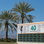 March 6, 2015, Indian Wells, California:<br /> A banner is shown at the Indian Wells Tennis Garden in Indian Wells, California Friday, March 6, 2015.<br /> (Photo by Billie Weiss/BNP Paribas Open)