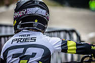 #53 (PRIES Nadja) GER at Round 6 of the 2018 UCI BMX Superscross World Cup in Zolder, Belgium
