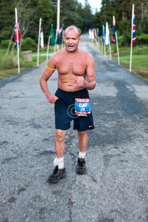 Great Cranberry Island Ultra 50K road race: Cliff Rogers