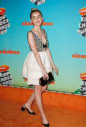 March 23, 2019 - Los Angeles, CA, USA - LOS ANGELES, CA - MARCH 23: Kiernan Shipka attends Nickelodeon's 2019 Kids' Choice Awards at Galen Center on March 23, 2019 in Los Angeles, California. Photo: CraSH for imageSPACE (Credit Image: © Imagespace via ZUMA Wire)